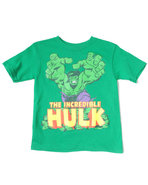 Boys Incredible Hulk Tee (4-7) Green 4
