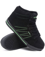 Boys Zig Zag Sneaker (Youth) Lime Green 4.5