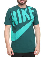 Men Hbr Exploded Futura Tee Green Medium