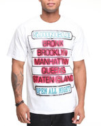5Ive Jungle Men Neon Tee White X-Large