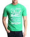 Men Fail To Succeed S/S Tee Green Small