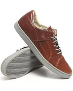 Men Tucco Biscotti Leather Sneaker Brown 7.5