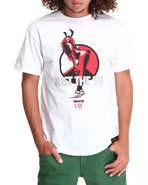 Men Just The Tip Tee White Medium