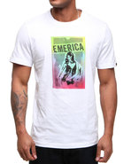 Men Vixen Tee White Large