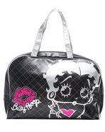 Women Signature Duffle Bag Black
