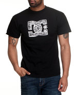 Dc Shoes Men Based Tee Black Large