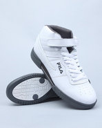 Men F-13 Super Lite Hightop Sneaker White 10.5
