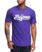 Men Signature Tee Purple Large