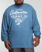 Akoo Men Craftmasters L/S Tee Blue Xx-Large