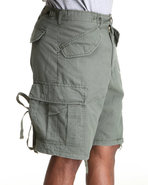 Men Woodland Vintage Rip Stop M-65 Field Shorts Ol