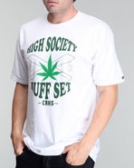 Men High Society Tee White Large
