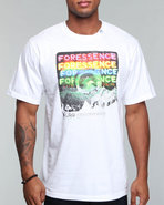 Lrg Men Foressence S/S Tee White Small