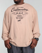 Akoo Men Craftmasters L/S Tee Tan Xx-Large