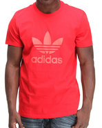 Men Trefoil Tee Red X-Large