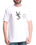 Blvck Scvle Men Vs Tee White X-Large