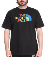 Men Half Dome Tee Black Medium