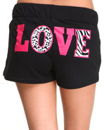 Women Brooklyn Active Shorts Black Large