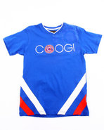 Coogi Boys V-Neck Coogi Tee (8-20) Blue 14/16 (L)