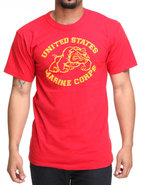 Drj Army/Navy Shop Men Marine Corps Tee Red Xx-Lar