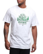 Lrg Men Big Trees Over Hear S/S Tee White Medium