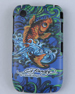 Men Koi, Black Berry Curve 8520 Case Multi