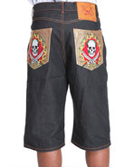 Men Hellfire Back Dark Wash 38