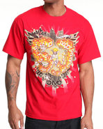 5Ive Jungle Men Walk Of Life Tee Red Medium