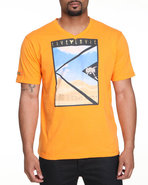Lavie Men Live La Vie S/S Tee Orange X-Large