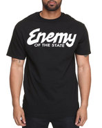 Drj Underground Men Og Enemy Tee Black Medium