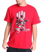 Men Miskeen Signature Hand Tee Red Medium