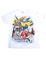Boys Transformers Tee (8-20) White X-Large