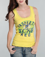 Women Active Tank Top Yellow Medium