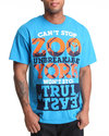 Men Xplistack Tee Blue Large
