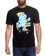 Men Flare Bear Tee Black Large