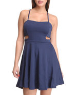 Women Rina Dress Navy Medium