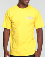 Men Takout Tee Yellow Medium
