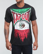 Tapout Men Mexico Tee Black Medium
