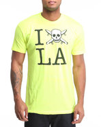 Men City Love La Premium Tee Yellow X-Large