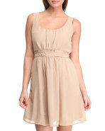 Women Jan Dress Khaki Medium