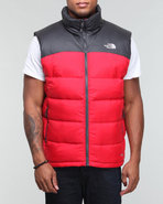 Men Nuptse 2 Vest Red Xx-Large