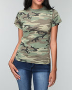 Drj Army/Navy Shop Women Rothco Camo Tee Camo Boy'