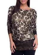 Women Animal Print Tunic Animal Print Medium