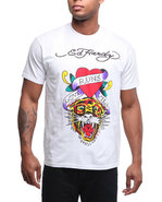 Men Tiger Hearts Tee White X-Large