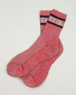 Kr3w Men Heathered Socks Red