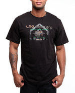 Lrg Men Very Denim Friendly Tee Black Small