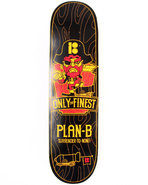 Men Only The Finest 7.625  Skate Deck Black
