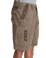 Men Quick Wit Cargo Shorts Forest Green 38