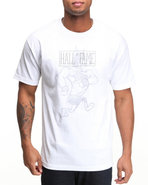 Hall Of Fame Men Mascot Tee White Medium