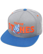 Men Mascot Snapback Cap Blue