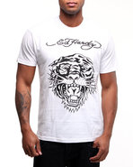 Men Tiger Head Basic Tee White Xx-Large